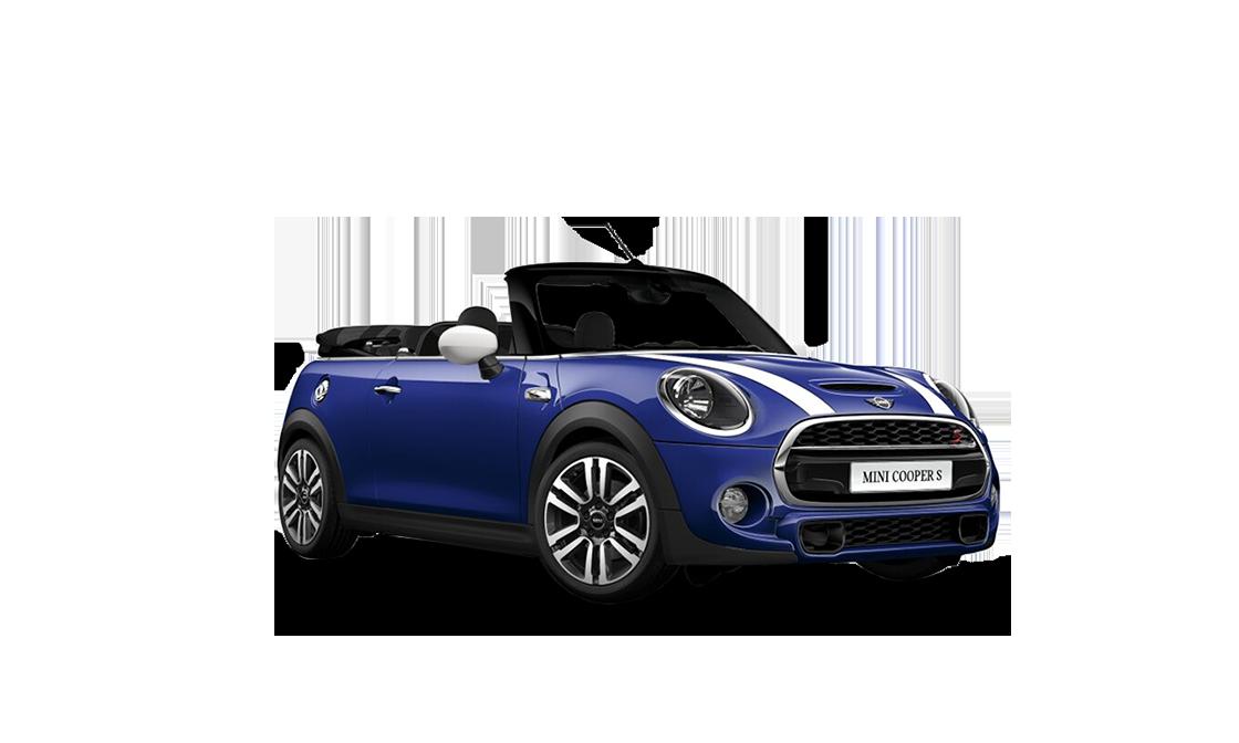 Blå Cabrio S