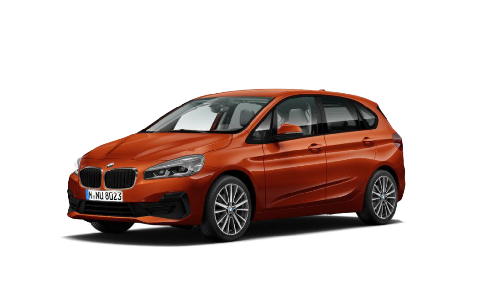 Orange 2-serie Active Tourer