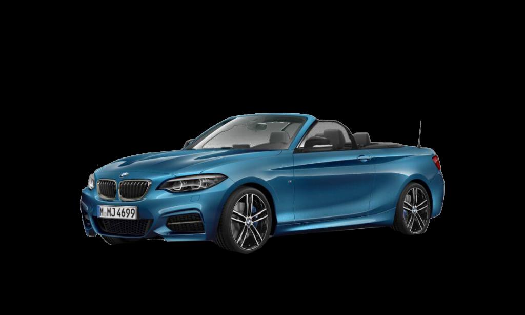 Blå 2-serie Cabriolet