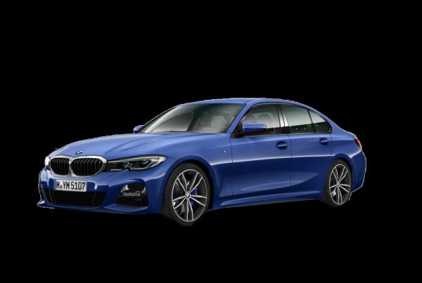 Blå 3-serie Sedan