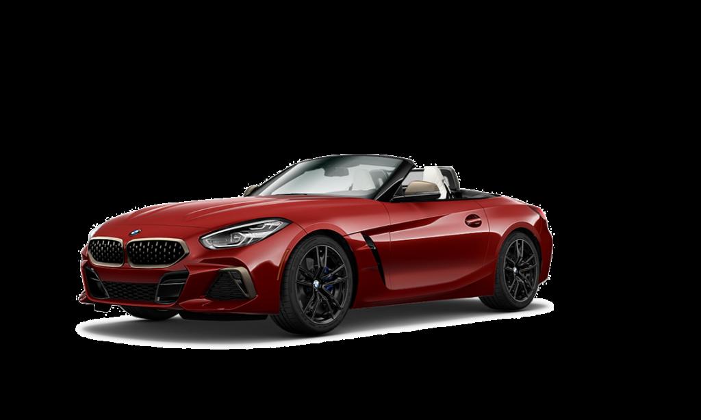 Röd Z4 Roadster
